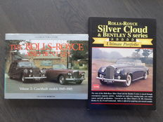 Books; Lot of 2 Rolls Royce and Bentley - 1984/1990