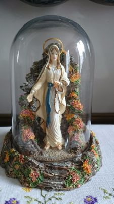 Franklin Mint - Our Lady of Lourdes - Limited Edition - Numbered
