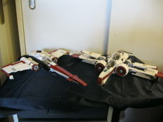 Star Wars - 8088 + 75004 + 8096 - ARC-170 Starfighter + Z-95 Headhunter + Emperor Palpatine's Shuttle