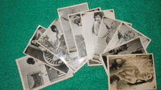 Photo; Lot with 13 nude photos - 1965/1975