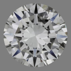 Brilliant cut diamond of 0.70 ct, J-SI1