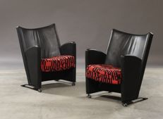 Christina & Lars Andersson for EFG – set of two chairs, model Carat