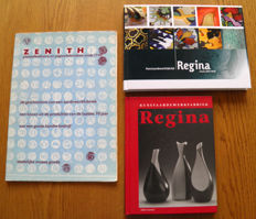 Literaturer:3 books about Gouda Pottery: Regina and Zenith