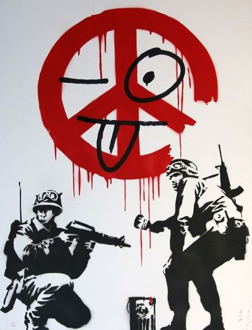 Ziegler-T - My kid ruined my Banksy