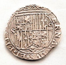 Spain – Catholic Monarchs – 4 Reales – Silver – 1474–1504 – Seville.