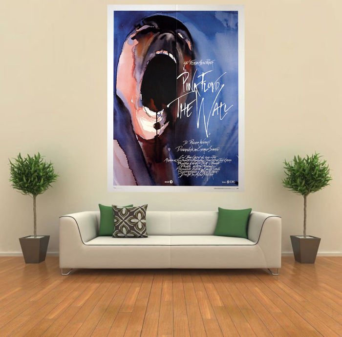 Original Movie Poster Pink Floyd The Wall 100x140 CM