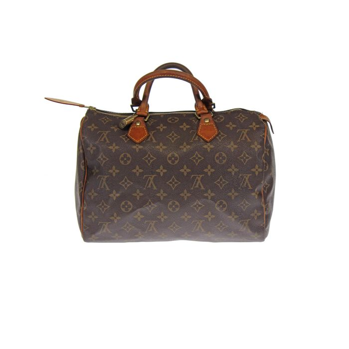 Louis vuitton monogram speedy 30 borsa a mano catawiki for Borse louis vuitton in offerta