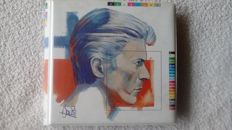 "a really rare collectors item, a portfolio with nine 7"" picturedisc singles by David Bowie."