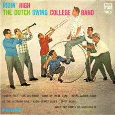 Huge collection Dutch Swing College Band: 21 albums ( 24 LPs) inl. some rare ones.