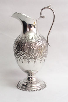 Ornate Silver Plated Jug - James Deakin & Sons UK - Late 19th Century