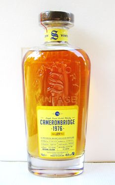 Cameronbridge 1976 39 years old - 70cl - 49,8% - Signatory Vintage