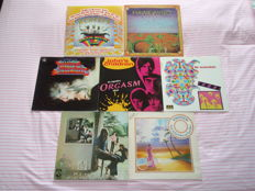 A Lot Of 7 Iconics And Rare Psychedelic Lps: The Beatles, Hawkwind, Hell Preachers Inc., John's Children, The Marmalade (Limited Edition Numbered), Pink Floyd & Tomorrow!