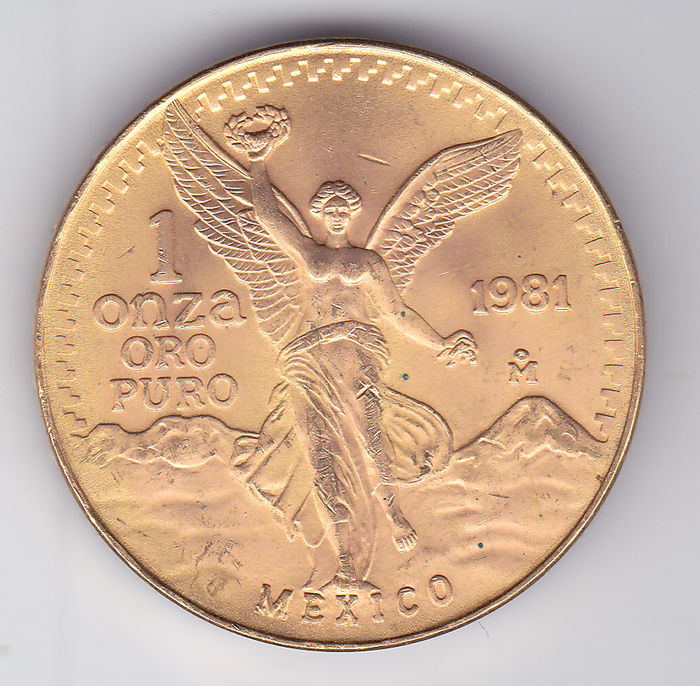 "Mexique - 1 Onza 1981 ""Libertad"" - 1 Oz - Or"