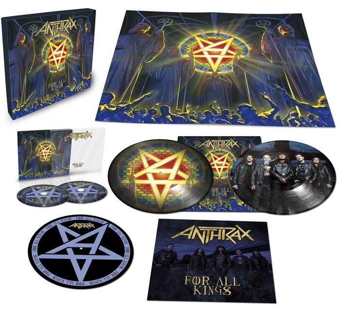 "Anthrax  Box Set  ""For All Kings""  -  Very Lavish Trash Metal Box Set !!  Still Sealed !!"