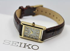SEIKO – Ladies Gold Plated Solar Powered – Watch – New & Mint Condition