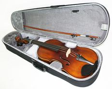"ChS Viola, violina, Bratsche 26,5"" including case, bow and rosin"