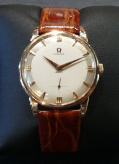 Omega gold watch for gentlemen. Year 1960