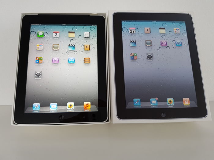 apple ipad 1st generation 16 gb wifi and 3g in box catawiki. Black Bedroom Furniture Sets. Home Design Ideas