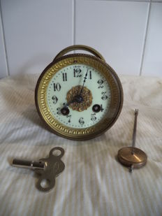 Complete French timepiece - ca. 1850