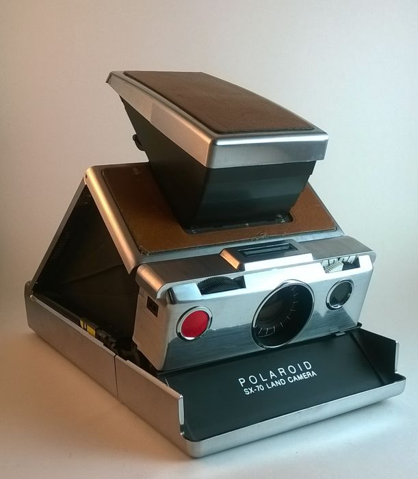 Polaroid SX-70 folding original