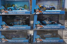 Atlas - Scale  1/43 - Lot with 6 models: 6 x Michel Vaillant