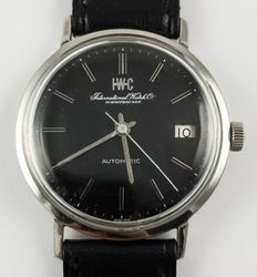IWC International Watch & Co ( reference 1818)  - men's watch - Steel -Automatic with date - year 1960 circa