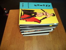 Comics; Lot with 60 different comics for adults-1995/2008
