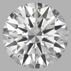 0.30 Carat Round Brilliant Diamond, D VS1, Cert: GIA  #1788
