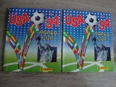 Panini - World Cup 1994 USA - 2 albums (1 empty + 1 incomplete).