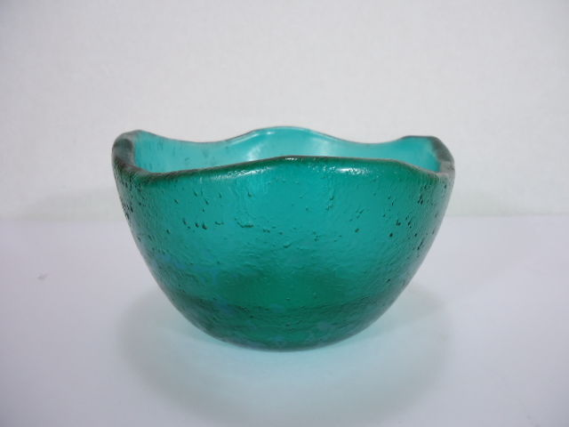 Carlo Scarpa Green Glass Vase Of The Series Corrosi Catawiki