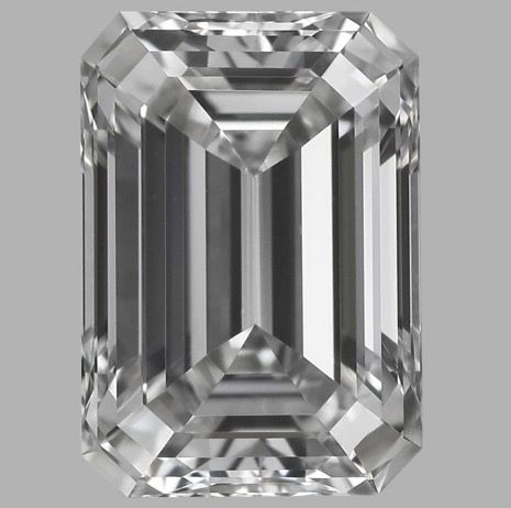 0.50ct IGI  Emerald Cut G VS1  -Original Image-10X - Serial# 223