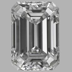 0.50ct  Emerald Cut G VS1  Low Reserve Price  # 223