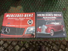 50 years Mercedes Benz, production models book 1946-1995 and by the 170V to the 300SEL