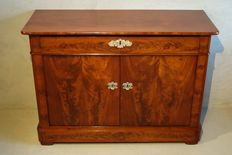 A Restauration mahogany pier cupboard – France-circa 1820/1830