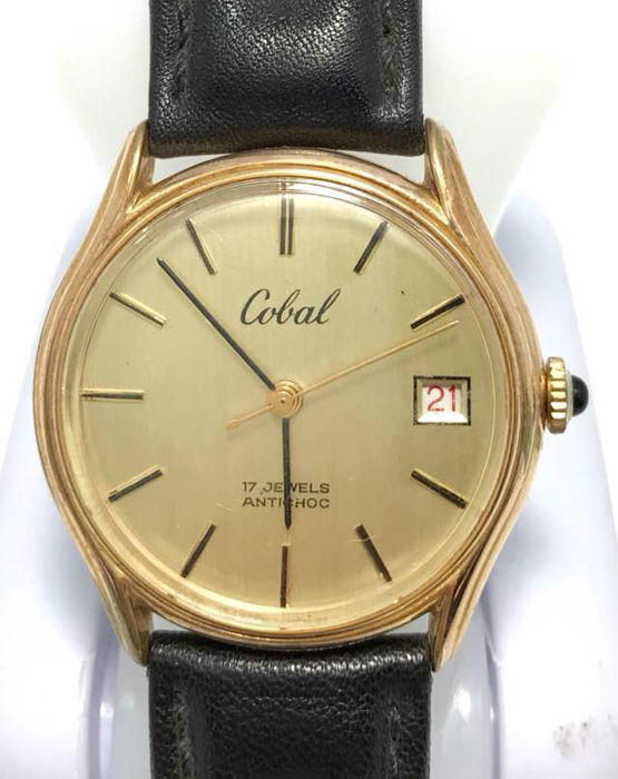 Cobal Antichoc - Men's watch - 1975
