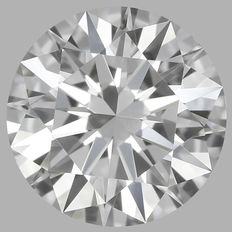 0.30 Carat Round Brilliant Diamond, DIF, Cert: GIA #1787