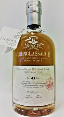 Glenglassaugh Vintage 1973 - 41 Year Old Single Malt Whisky - The Massandra Connection - Sherry Wood Finish - Bottled in 2014