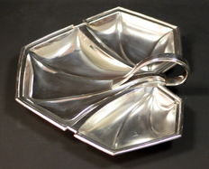 Mappin & Webb - Antique Silver Plate Bonbon Dish, Made in Sheffield 1920