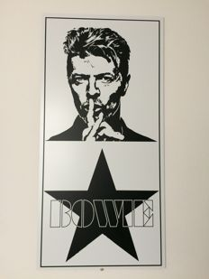 Decorativ David Bowie Motiv