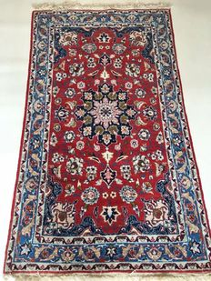 Persian carpet – Very exclusive and very fine Isfahan wool, 175 x 98 cm