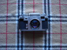 Contax IIIa Set camera with Rangefinger+Selenium photometer. The lens Steinhell date of manufacture over 1930+ Tripod
