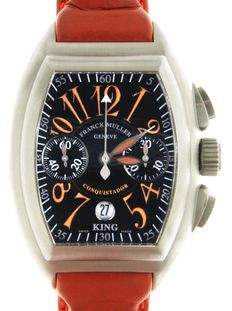 Franck Muller Qonquistador Sunrise - 8005 CC King - Master of Complications - Wristwatch - Limited Edition n° 34/100