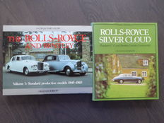Books; Lot of 2 Rolls Royce and Bentley - 1980/1984