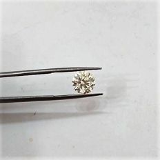 Brilliant cut, 2.55 ct, M-VS1.