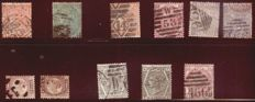 British Commonwealth - small collection of stamps 1862/2013