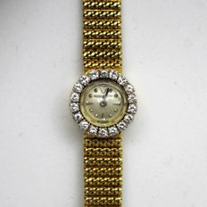 Jaeger-LeCoultre – 18kt Gold and Diamonds – Ladies' Wristwatch