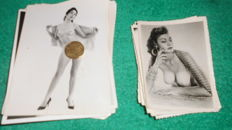 Photo; Lot with 20 erotic nude photographs - 1965/1975