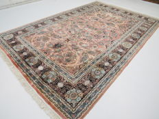 Wonderfully beautiful oriental carpet Kashmir silk 290 x 190 cm  end of the 20th century - very good condition - TOP