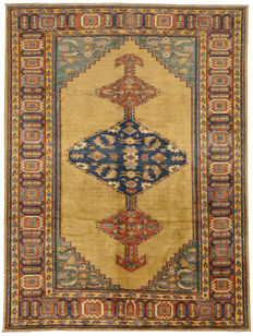 92487 – Original Zigler rug – Extra thin – Hand-knotted, double knotted in Pakistan/Afghanistan – Dimensions: 260 x 197 cm – With Certificate of Authenticity – Galleria Farah 1970