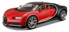 Bburago - Scale 1/18 - Bugatti Chiron - Colour black with red